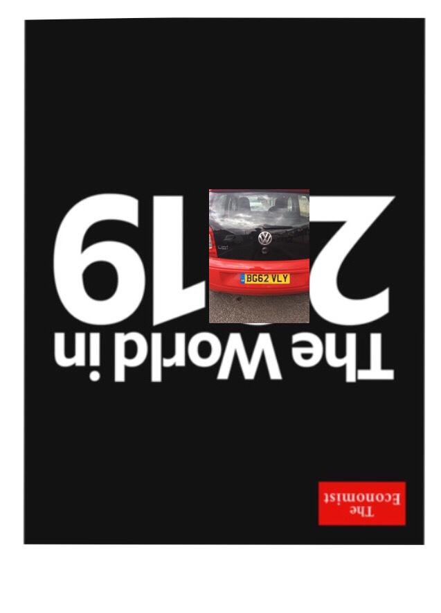 The Economist Cover 2019: 219 How it relates to Birmingham Post Code